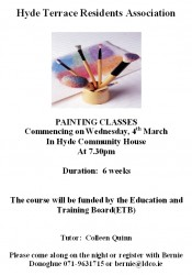 Hyde Terrace Painting classes