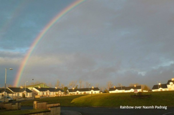 Rainbow over Naomh Padraig