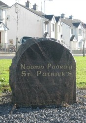 naomh Padraig Entrance Headstone
